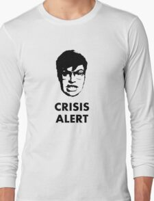 Garret Crisis Alert  Long Sleeve T-Shirt
