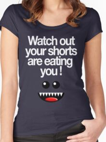 WATCH OUT! Women's Fitted Scoop T-Shirt