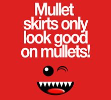 MULLETS FOR MULLETS Womens Fitted T-Shirt