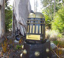 Dalek  letterbox by gaylene