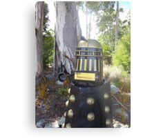 Dalek  letterbox Metal Print