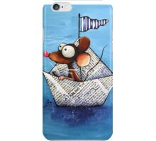Paperboat iPhone Case/Skin