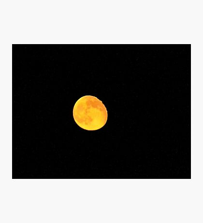 Foster's moon Photographic Print