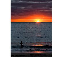 """Post Storm Sunset"" - Fremantle, W.A. Photographic Print"