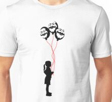 mr robot - girl/revolution red Unisex T-Shirt