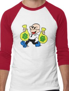 Community Dean with Money Men's Baseball ¾ T-Shirt