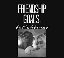 Friendship Goals; ButtahBenzo-- White Hoodie