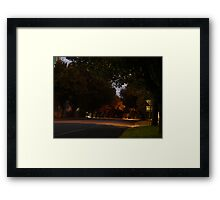Yarragon Road Framed Print