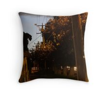 Pavement and Shadows Throw Pillow