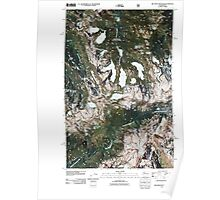 USGS Topo Map Washington State WA Big Snow Mountain 20110428 TM Poster