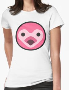 FLORA ANIMAL CROSSING Womens Fitted T-Shirt