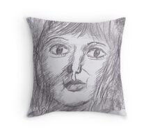 Woman Unknown Throw Pillow