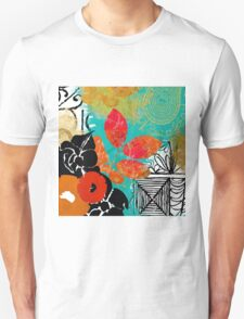 Bali II Abstract Fine Art Collage Unisex T-Shirt