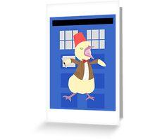 12th Ducktor Greeting Card