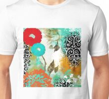 Bali I Abstract Collage Fine Art Unisex T-Shirt