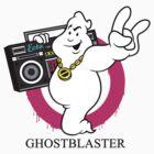 Ghostblaster Sticker by Lapuss