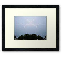 Lightning Art (1) Framed Print