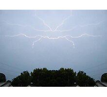 Lightning Art 3 Photographic Print