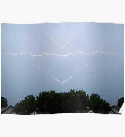 Lightning Art 5 Poster