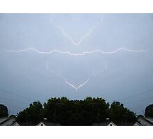 Lightning Art 5 Photographic Print