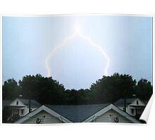 Lightning Art 6 Poster