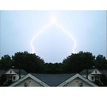 Lightning Art 6 Photographic Print