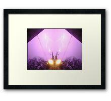 Lightning Art 7 Framed Print