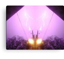 Lightning Art 7 Canvas Print