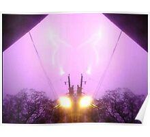Lightning Art 7 Poster