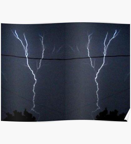 Lightning Art 11 Poster