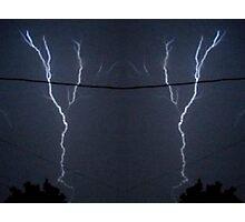 Lightning Art 11 Photographic Print