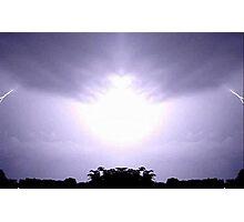 Lightning Art 12 Photographic Print