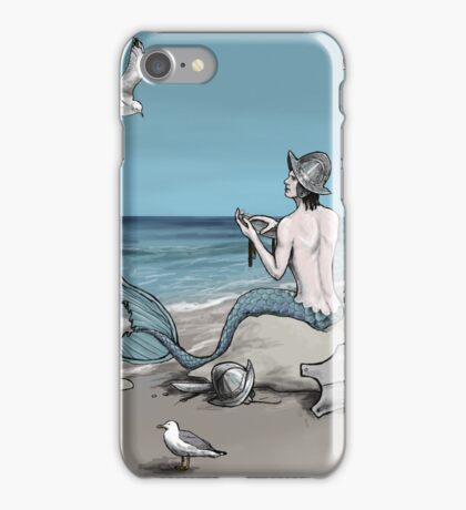 Merman with Armour iPhone Case/Skin