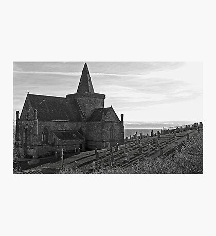 St.Monans Historical Kirk. Photographic Print