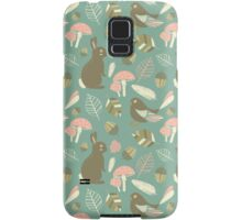 Cute Woodland Pattern Samsung Galaxy Case/Skin