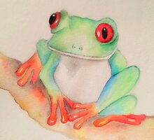 Ribbit.... by Ali Brown