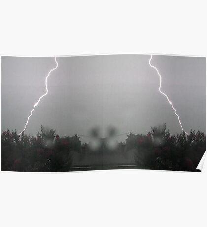 Lightning Art 13 Poster