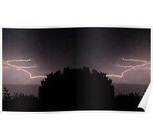 Lightning Art 24 Poster
