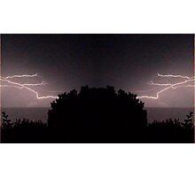 Lightning Art 24 Photographic Print