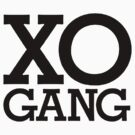 XO Gang (Black) by Faded Fabrics
