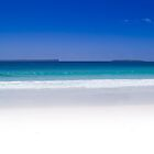 Blue Sea White Sand by Toma Iakopo | Tomojo Photography