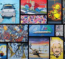 Berlin Wall Art by Hayley Kershaw