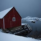 Fishermans Hut by John Dekker