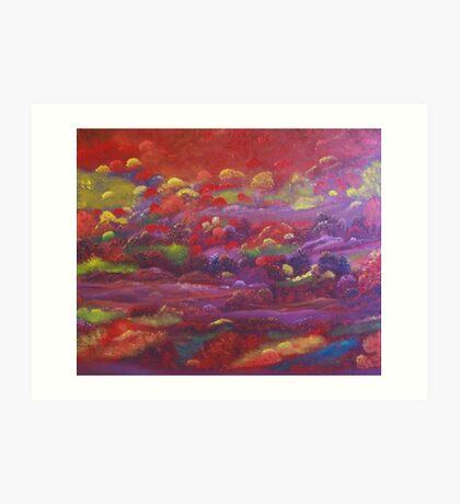 Riders of the Purple Sage Art Print