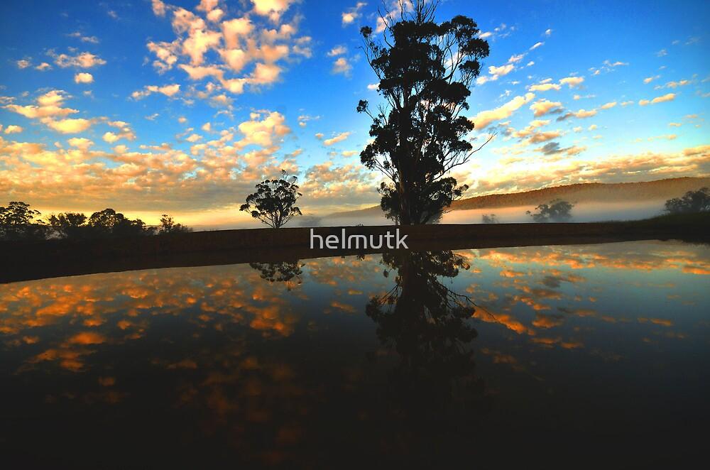 """"""" Delegate River Sun Rise """" by helmutk"""