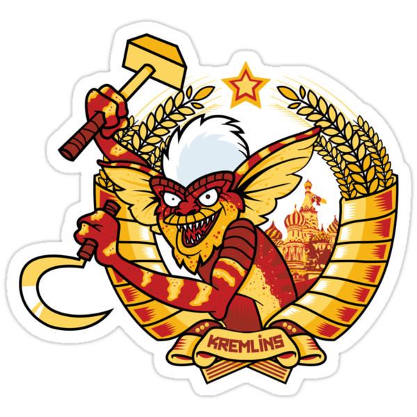 Kremlins Sticker by Lapuss