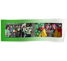 Parade Girls St Pats Day Poster