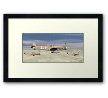Desert Patrol Framed Print