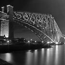 b&w Bridge. by ninjabob