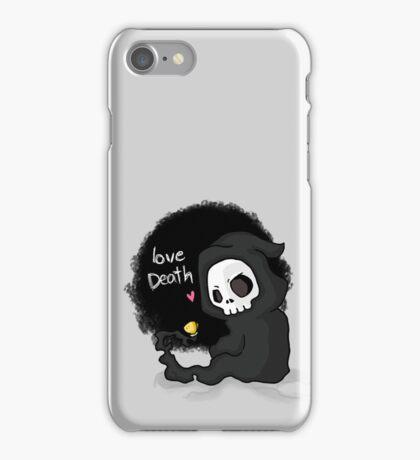 cute death iPhone Case/Skin